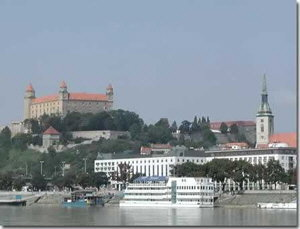 Братислава - столица Словакии.