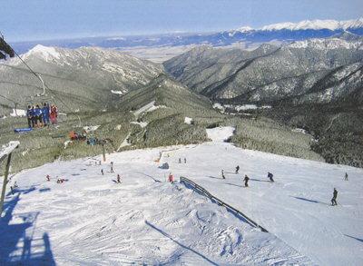 Зима в Словакии